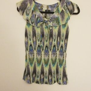 Accordion style blouse